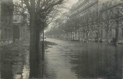 """CARTE PHOTO FRANCE 75 """" Paris"""" / INONDATION 1910"""