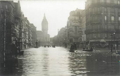 "CARTE PHOTO FRANCE 75 "" Paris"" / INONDATION 1910"