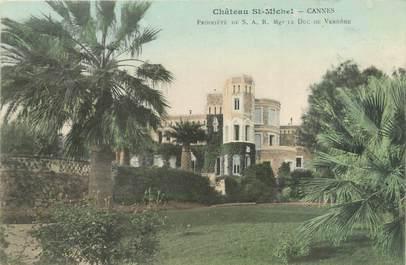 """CPA FRANCE 06 """"Cannes, château de Michel"""""""