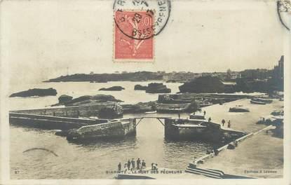 """CPA FRANCE 64 """"Biarritz, le port des pêcheurs"""""""