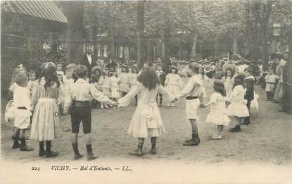 "CPA FRANCE 03 ""Vichy, bal d'enfants"""