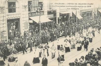 """CPA FRANCE 45 """"Orléans, fêtes de Jeanne d'Arc"""""""