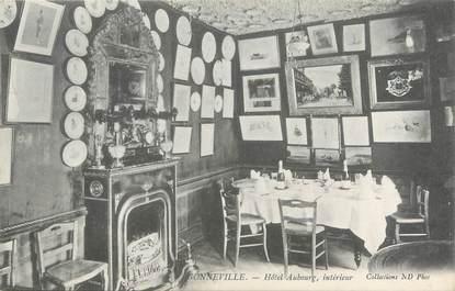 """CPA FRANCE 76 """"Gonneville, hôtel Aubourg """""""