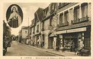 """14 Calvado CPA FRANCE 14 """"Lisieux, Saint Antoine de Padoue et hôtel de Lisieux"""""""