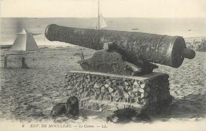 """CPA FRANCE 33 """"Environs de Moulleau, le canon"""""""