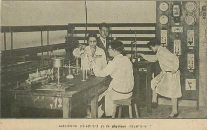 """CPA FRANCE 75014 """"Paris, laboratoire d'électricité et de physique industrielle"""""""