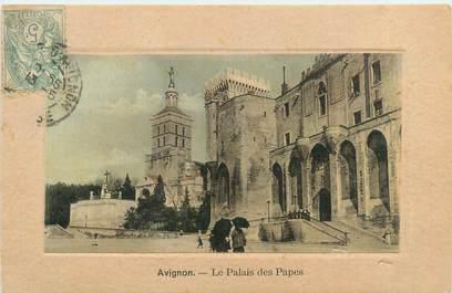 """CPA FRANCE 84 """"Avignon, le palais des Papes"""""""