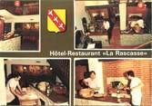 """57 Moselle CPSM FRANCE 57 """"Réchicourt Le Château, hôtel restaurant La Rascasse"""""""