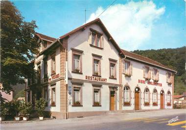 """CPSM FRANCE 57 """"Lutzelbourg, hôtel des Vosges, relais gastronomique / DOS NON CP"""""""