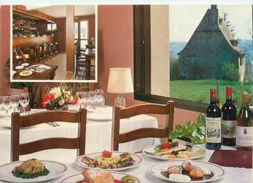 """CPSM FRANCE 12 """"Mur de Barrez, hôtel restaurant Auberge du Barrez"""""""