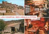 """11 Aude CPSM FRANCE 11 """"Fitou, restaurant Lou Courtal des Vidals"""""""