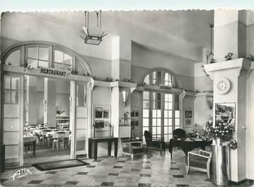 """CPSM FRANCE 31 """"Luchon, le Majestic Hôtel, le hall"""""""