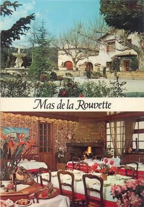 """CPSM FRANCE 30 """"Rochefort du Gard, hôtel restaurant Mas de la Rouvette"""""""