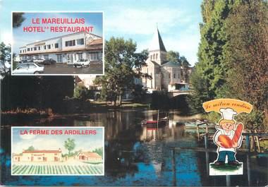 """CPSM FRANCE 85 """"Mareuil sur Lay, hôtel restaurant Le Mareuillais"""""""