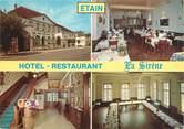 """55 Meuse CPSM FRANCE 55 """"Etain, hôtel restaurant la Sirène"""""""