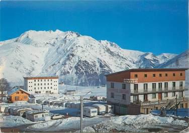 """CPSM FRANCE 38 """"Les deux Alpes, motel Caravaneige"""""""
