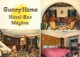 """74 Haute Savoie CPSM FRANCE 74 """"Megève, Sunny Home hôtel bar"""""""