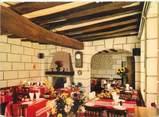 """40 Lande CPSM FRANCE 41 """"Rilly sur Loire, hôtel restaurant de l'Espérance"""""""
