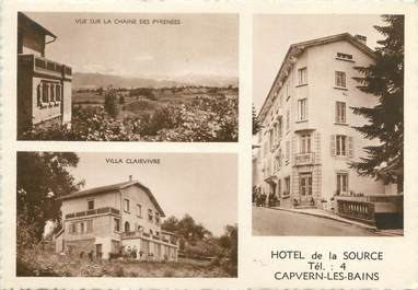 """CPSM FRANCE 65 """"Capvern Les Bains, hôtel de la Source"""""""