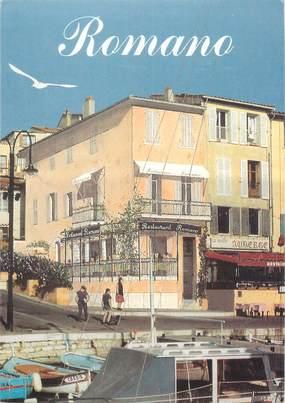 "CPSM FRANCE 13 ""Cassis, restaurant Romano"""
