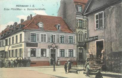 "CPA FRANCE 68 ""Mulhouse, rue Dornacher"""