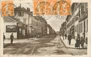 "68 Haut Rhin CPA FRANCE 68 ""Mulhouse, chaussée de Dornach"""