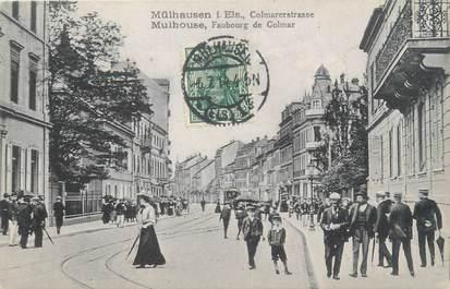 "CPA FRANCE 68 ""Mulhouse, Faubourg de Colmar """