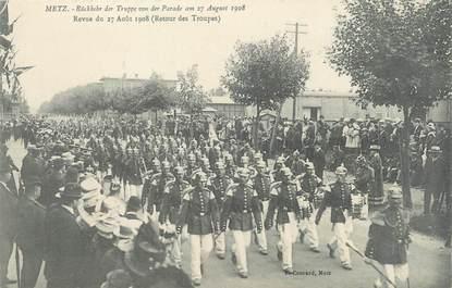 "CPA FRANCE 57 ""Metz, revue du 27 août 1908"""