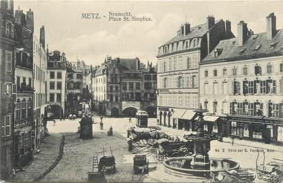 "CPA FRANCE 57 ""Metz, place Saint Simplice"""