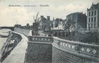 """CPA FRANCE 57 """"Thionville, promenade de la Moselle"""""""