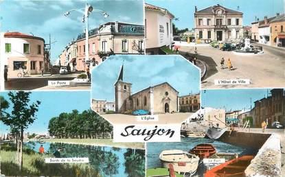 "/ CPSM FRANCE 17 ""Saujon"""