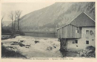 """CPA FRANCE 39 """"Syam, la rivière d'Ain"""" / Ed. R. CHAPUIS"""