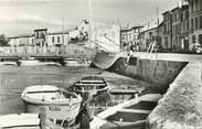 """17 Charente Maritime / CPSM FRANCE 17 """"Saujon, le port"""""""