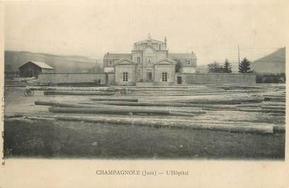 """CPA FRANCE 39 """"Champagnole, l'hôpital"""" / Ed. R. CHAPUIS"""