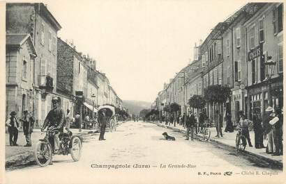 """CPA FRANCE 39 """"Champagnole, la grande rue"""" / Ed. R. CHAPUIS"""