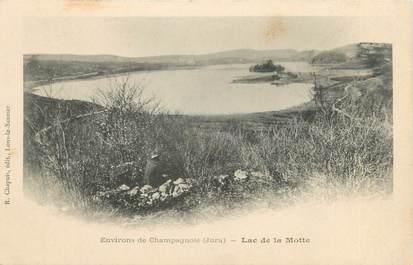 """CPA FRANCE 39 """"Environs de Champagnole, lac de la Motte"""" / Ed. R. CHAPUIS"""
