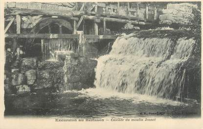 "CPA FRANCE 39 ""Excursion au hérisson, cascade du moulin Jeunet"" / Ed. R. CHAPUIS"