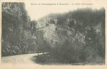 """CPA FRANCE 39 """"Route de Champagnole à Nozeroy"""" / Ed. R. CHAPUIS"""
