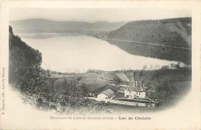 """CPA FRANCE 39 """"Environs de Lons Le Saunier, lac de Chalain"""" / Ed. R. CHAPUIS"""