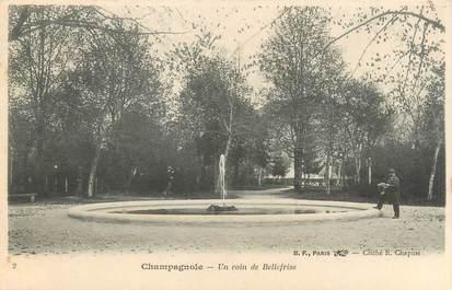 """CPA FRANCE 39 """"Champagnole, un coin de Bellefrise"""" / Ed. R. CHAPUIS"""