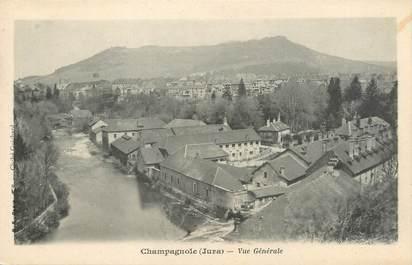"""CPA FRANCE 39 """"Champagnole, vue générale"""" / Ed. R. CHAPUIS"""