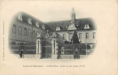 """CPA FRANCE 39 """"Lons Le Saunier, l'hôtel Dieu"""" / Ed. R. CHAPUIS"""