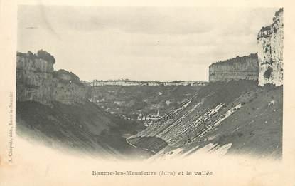 """CPA FRANCE 39 """"Baume les Messieurs et la vallée"""" / Ed. R. CHAPUIS"""