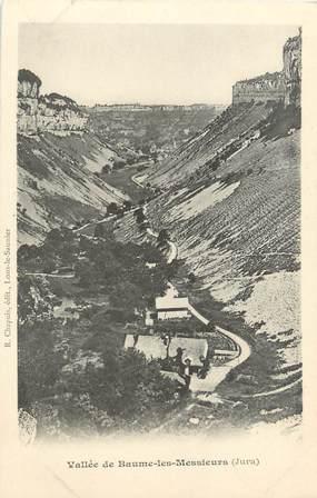 """CPA FRANCE 39 """"Vallée de Baume les Messieurs"""" / Ed. R. CHAPUIS"""