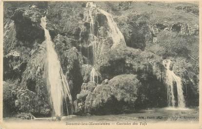 """CPA FRANCE 39 """"Baume les Messieurs, cascade des Tufs"""" / Ed. R. CHAPUIS"""