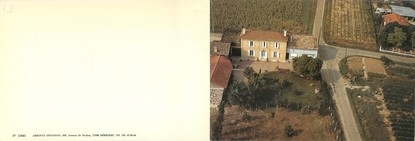 """CPSM LIVRET FRANCE 33 """"Saint Magne de Castillon, château La Bourrée"""""""