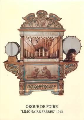 """CPSM FRANCE 50 """"Vains, orgue de foire"""""""