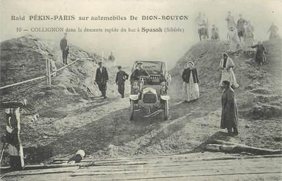 "CPA SIBERIE ""Raid auto Pékin Paris"""