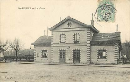 """CPA FRANCE 92 """"Garches, la Gare"""""""
