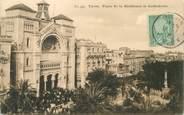 "Tunisie CPA TUNISIE ""Tunis, Place de la Résidence"""